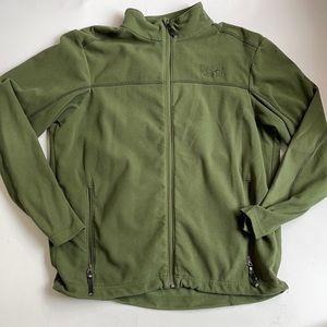 MOUNTAIN HARDWEAR Green Fleece Men's L